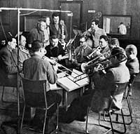a TOČR/JOČR recording session in the early 1960s